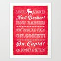 Reindeer names by wendypaulapatterson