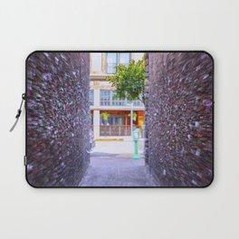 Emergency Exit Bubblegum Alley San Luis Obispo Laptop Sleeve