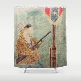 150th Gettysburg Flag Appreciation Shower Curtain