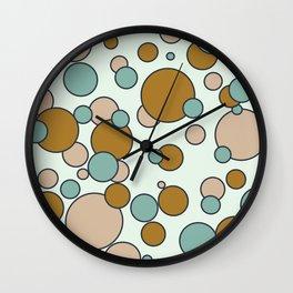 Floating Bubbles Wall Clock