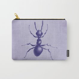 Purple Ant Carry-All Pouch