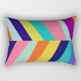 Vibrant and colorful art II Rectangular Pillow