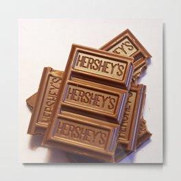 Au Chocolat Metal Print