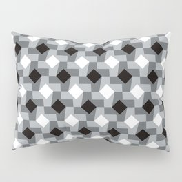 Blurry Houndstooth Pillow Sham