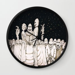 Innsmouth Wedding Wall Clock