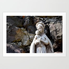 Mother mary Art Print
