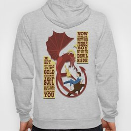 The Devil Went Down to Georgia Hoody
