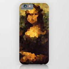 Pixelated Mona Lisa Slim Case iPhone 6s