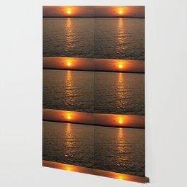Sundown on the Lake Wallpaper