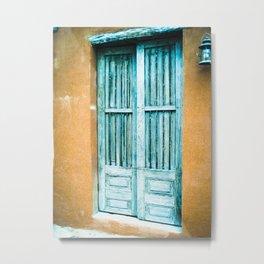Door 5 Metal Print