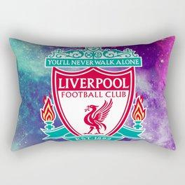 Liverpool Galaxy Design Rectangular Pillow