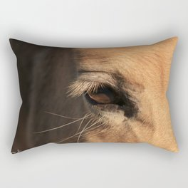 The soul of a horse Rectangular Pillow