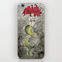 ariel iPhone & iPod Skins featuring Ariel by Jena Sinclair