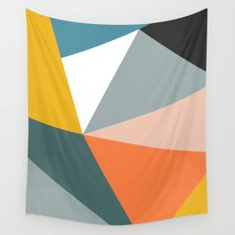 Modern Geometric 33 Wall Tapestry
