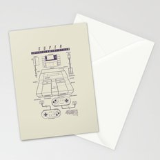 Super Entertainment System (light) Stationery Cards