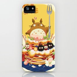 Ghibli Cake! iPhone Case