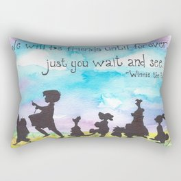 Winnie The Pooh and Friends Rectangular Pillow