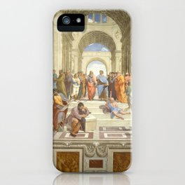 Raphael - The School of Athens iPhone Case