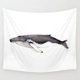 North Atlantic Humpback whale Wall Tapestry