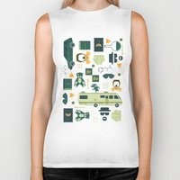 breaking bad Biker Tanks featuring Breaking Bad by Tracie Andrews