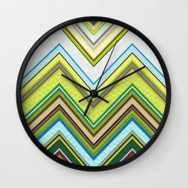 Chevron 01 Wall Clock
