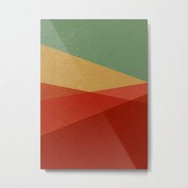 Stripe IX Modern Century Metal Print