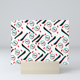 Pattern Jason Serial Killer, Mini Art Print
