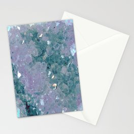 Teal Amethyst Stationery Cards