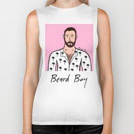 Beard Boy: David Biker Tank