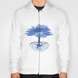 Heart Tree - Blue Hoody
