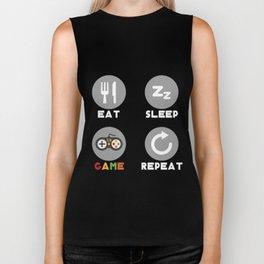 Shirt For Game Lover. Funny Gift For Son/Stepson Biker Tank