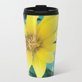 Shine like a Sunflower Metal Travel Mug