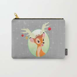 Bambi Christmas Carry-All Pouch