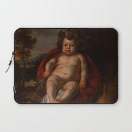 "Jacob Jordaens ""Bacchus as a child"" Laptop Sleeve"