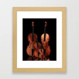 String Instruments Framed Art Print