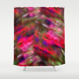 Dancers On A Windy Day Shower Curtain