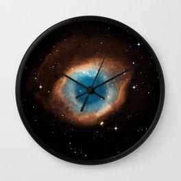 The Helix Nebula Wall Clock