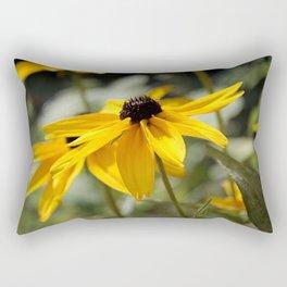 Beckie - rudbeckia flower Rectangular Pillow