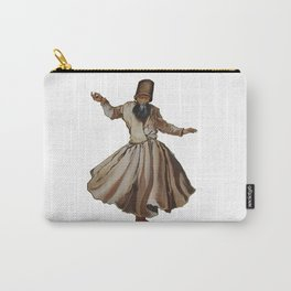 Whirling Dervish Conveys God's Spiritual Gift Carry-All Pouch