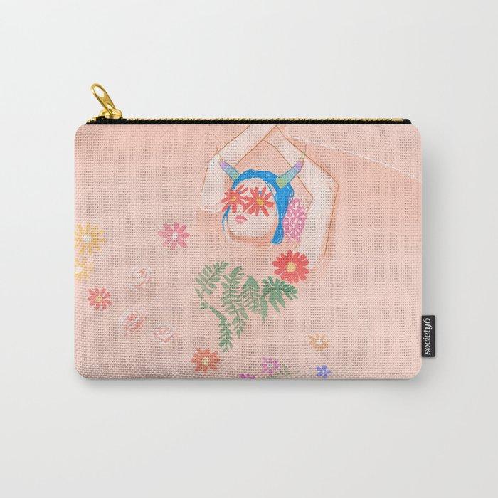 Flower Bath Carry-All Pouch