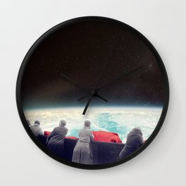 They Are Waiting For Us Wall Clock