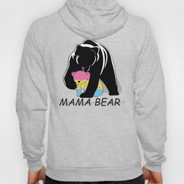 Mama Bear Pansexual Hoody