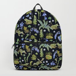 Frolicking Frogs and Ferns Backpack