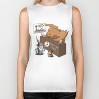 middle earth Biker Tanks featuring Middle Earth Travels by souldroid