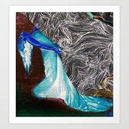 Woman of the Wind Art Print