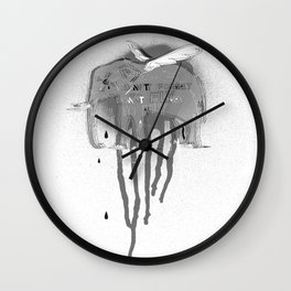 Don't forget to fly Wall Clock