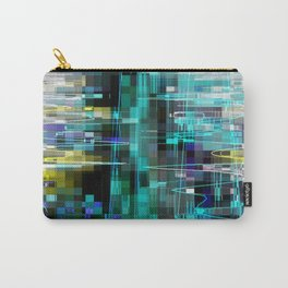 Electrified Shimmer Carry-All Pouch