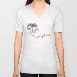 The scientist Unisex V-Neck