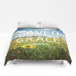 Saved by Grace Comforters