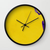 batgirl Wall Clocks featuring Batgirl by genie espinosa